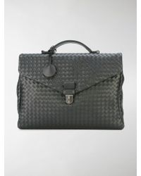 Bottega Veneta | - Small Intrecciato Weave Briefcase - Men - Calf Leather - One Size | Lyst