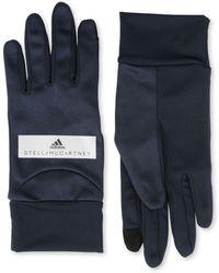 adidas By Stella McCartney - Black Running Gloves - Lyst