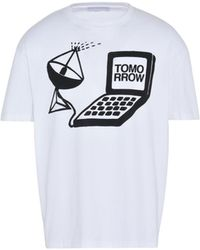 Stella McCartney - White Tomorrow Print T-shirt - Lyst