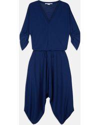 Stella McCartney - Knit Sapphire Jumpsuit - Lyst
