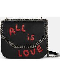 Stella McCartney - All Is Love Falabella Box Shoulder Bag - Lyst