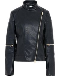 Stella McCartney - Victoire Skin Free Skin Leather Jacket - Lyst