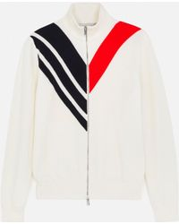 Stella McCartney - Ivory Knit Cardigan - Lyst