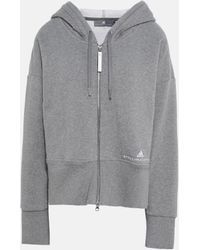 adidas By Stella McCartney - Grauer Essential Hoodie - Lyst