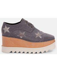 Stella McCartney - Denim Stars Elyse Shoes - Lyst