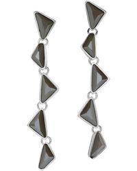 St. John - Sale Swarovski Crystal Drop Earring - Lyst