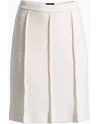 St. John - Belle Du Jour Knit A-line Skirt - Lyst