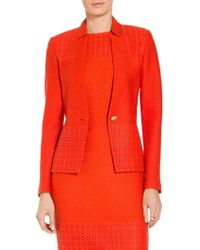 St. John - Caris Knit Jacket - Lyst