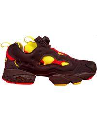 save off 1596b 5bbbf Reebok - Instapump Fury Packer Shoes Og Division Black - Lyst