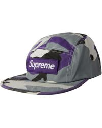 dd8923f602b Lyst - Y-3 Black and Purple Vintage Trucker Cap in Purple for Men