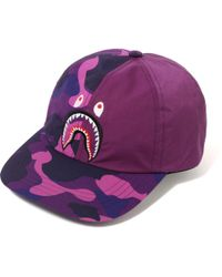 c5e3299e1d1b Lyst - A Bathing Ape 1st Camo Shark Cap in Green for Men