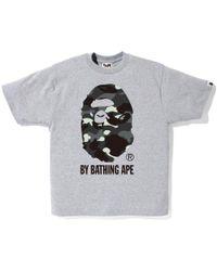 9bbb87aa Aape By A Bathing Ape T-shirt in White for Men - Lyst