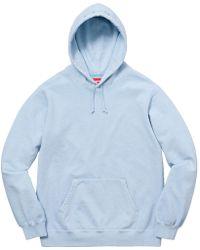 0bd4b8da Supreme Chainstitch Hooded Sweatshirt Dusty Blue in Blue for Men - Lyst