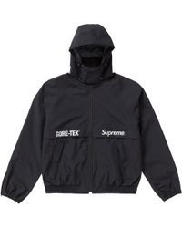 Supreme - Gore-tex Court Jacket Black - Lyst