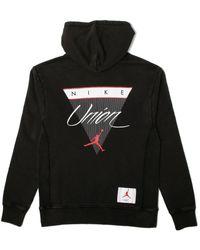 407139be150335 Lyst - Nike Jordan Flight Zip-up Hoodie in Black for Men