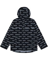 lyst supreme the north face snakeskin taped seam coaches jacket