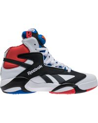 fc264c3a45f Lyst - Reebok Shaq Attaq Fashion Sneaker in Black for Men