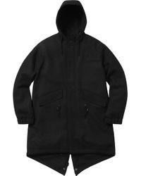 reputable site 58e19 e8915 Men s Supreme Parka jackets On Sale - Lyst