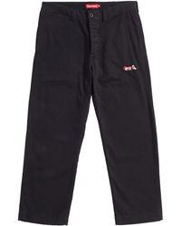 Lyst - Dolce   Gabbana Cat Print Track Pants in Black for Men e4beb2fcc987