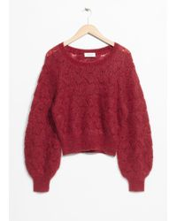 & Other Stories - Merino Wool Sweater - Lyst