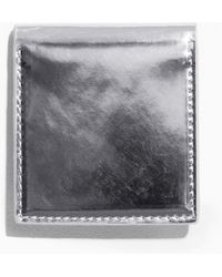 & Other Stories | Silver Leather Hand Mirror | Lyst