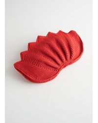 & Other Stories - Crochet Lotus Clutch - Lyst