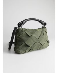& Other Stories - Braided Leather Crossbody Bag - Lyst