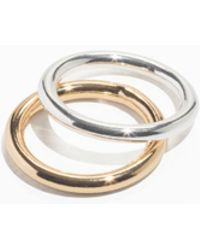 & Other Stories - Duo Metal Ring Set - Lyst