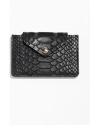 & Other Stories - Leather Card Holder - Lyst