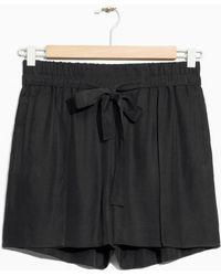& Other Stories - Tie-waist Shorts - Lyst