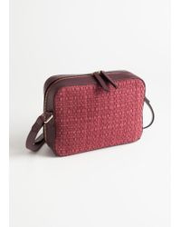 & Other Stories - Braided Suede Crossbody Bag - Lyst