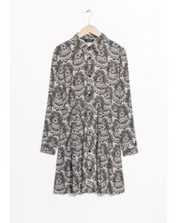 & Other Stories | Buttoned Dress | Lyst