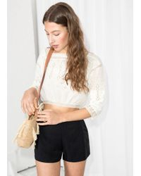 & Other Stories - High Waisted Shorts - Lyst