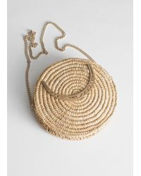 & Other Stories - Woven Straw Crossbody Bag - Lyst