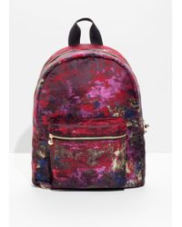 & Other Stories - Jacquard Multi Colour Backpack - Lyst