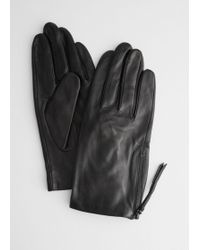 & Other Stories - Side Zip Gloves - Lyst