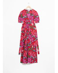 & Other Stories - Floral Printed Dress - Lyst