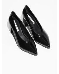 & Other Stories - Patent Leather Court Shoes - Lyst