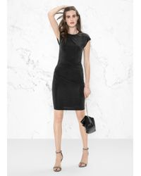 & Other Stories - Cupro Dress - Lyst