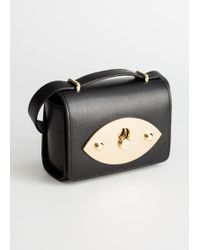 & Other Stories - Push Lock Leather Crossbody Bag - Lyst