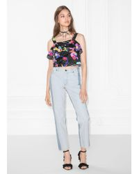 & Other Stories - Two-toned Jeans - Lyst