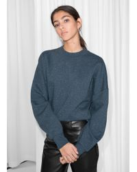 & Other Stories - Speckled Pullover - Lyst