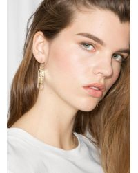 & Other Stories - Power Charm Earrings - Lyst