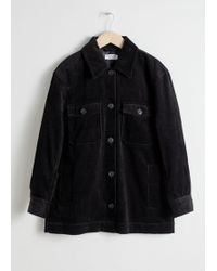 & Other Stories - Oversized Corduroy Overshirt - Lyst