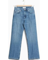 & Other Stories - Flare Cropped Jeans - Lyst