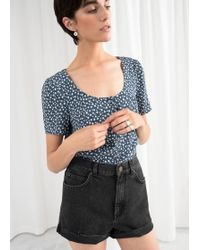 & Other Stories - Fitted Button Down Blouse - Lyst