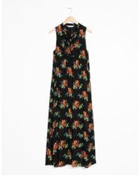 & Other Stories - Pussy Bow Maxi Dress - Lyst
