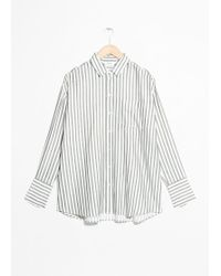 & Other Stories - Oversized Button Up Shirt - Lyst