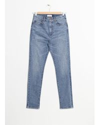 & Other Stories - High Rise Slim Jeans - Lyst