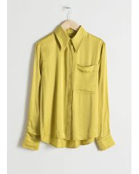 & Other Stories - Tailored Button Up Shirt - Lyst